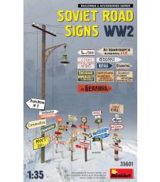 1:35 Съветски пътни знаци от периода на Втората световна война (Soviet Road Signs WW2)