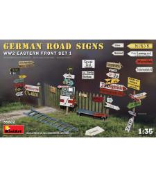 1:35 Немски Пътни Знаци от Втората Световна Война - Източен Фронт
