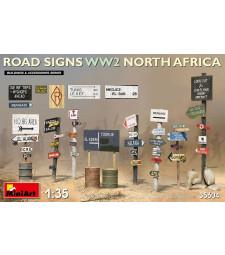 1:35 Пътни знаци от втората световна война - Северна Африка (Road Signs WW2 (N.Africa))