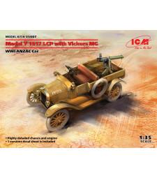 1:35 Модел T 1917 LCP с кола Vickers MG, WWI ANZAC