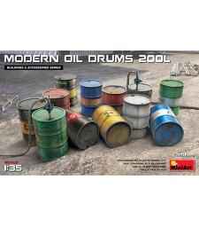 1:35 Съвременни варели за гориво - 200 литра (Modern Oil Drums (200l))