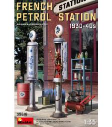 1:35 Френска бензиностанция 1930-1940 (French Petrol Station 1930-40S)
