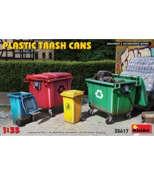 1:35 Пластмасови контейнери за отпадъци
