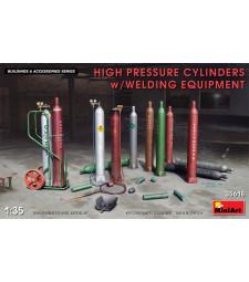 1:35 Обурудване за заваряване (High Pressure Cylinders w/Welding Equipment)