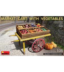 1:35 Пазарна количка със зеленчуци