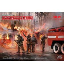 1:35 Съветски пожарникари (1980-те)