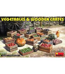 1:35 Зеленчуци и дървени щайги