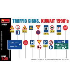 1:35 Пътни знаци. Кувейт, 90-те