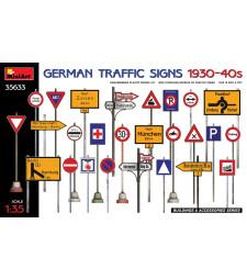 1:35 Германски пътни знаци 1930-40-те години