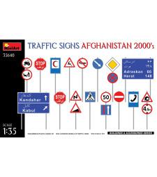 1:35 Пътни знаци. Афганистан 2000-та