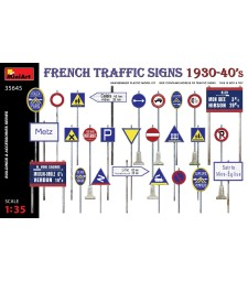 1:35 Френски пътни знаци 1930-40-те