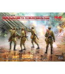 1:35 Съветски BM-13-16 MLRS с екипаж от Втората световна война
