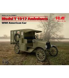 1:35 Американска линейка Модел Т (Model T) 1917 от Първата световна война (100% нови отливки)