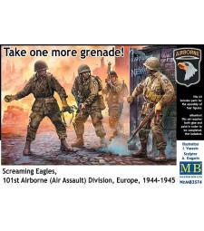 1:35 На ви още една граната! Крещящи орли, 101-ва дивизия (въздушно нападение), Европа, 1944-1945 - 4 фигури