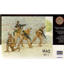 1:35 Събития в Ирак. Комплект №1, морски пехотинци - 4 фигури