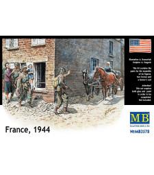 1:35 Франция, 1944 г. - 6 фигури