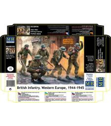 1:35 Британска пехота, западна Европа 1944-1945 - 5 фигури (British Infantry. Western Europe. 1944-1945  - 5  figures)