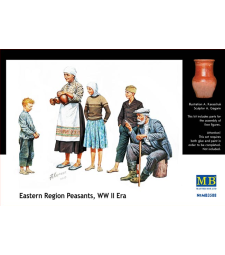1:35 Селяни от Източния регион, епохата на Втората световна война - 5 фигури