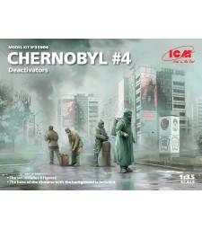 1:35 Чернобил # 4. Деактиватори (4 фигури)