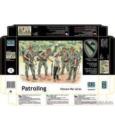 1:35 Патрул във Виетнам - 5 фигури (Patroling. Vietnam War series  - 5  figures)