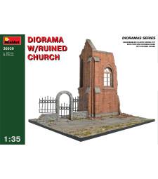 1:35 Диорама на разрушена църква