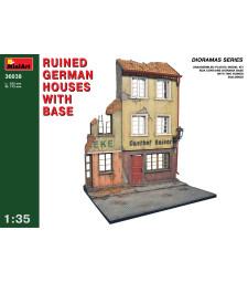 1:35 Разрушени германски къщи с основи