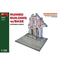 1:35 Диорама с разрушена сграда