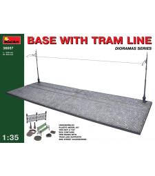 1:35 Трамвайна линия с основа