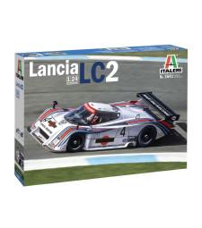 1:24 Състезателен автомобил LANCIA LC2 24h Le Mans 1983