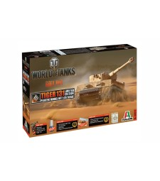1:35 Германски тежък танк Тигър 131, лимитирана серия (TIGER 131 EU WoT Limited edition) - World of Tanks