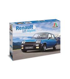 1:24 Автомобил RENAULT 5 ALPINE