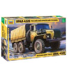 1:35 Съветски военен камион Урал 4320 (Ural 4320 Truck)