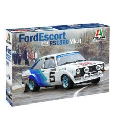 1:24 Спортен автомобил Форд Ескорт РС1800 Мк. II (FORD ESCORT RS1800 Mk.II)