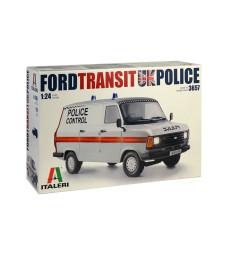 1:24 Британски полицейски автомобил FORD TRANSIT UK Police