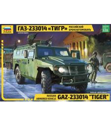 "1:35 Руски брониран автомобил GAZ ""Tiger"""