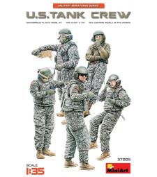 1:35 Американски танков екипаж - 5 фигури