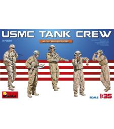 1:35 Американски танков екипаж (USMC Tank Crew) - 5 фигури