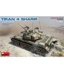 1:35 Израелски танк Тиран 4 Шарир, късен вариант, с интериор (Tiran 4 Sharir Late Type. Interior Kit)
