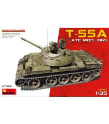 1:35 Съветски танк T-55A, късен модел 1965