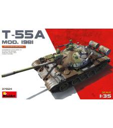 1:35 Съветски танк T-55A, модел 1981 (T-55A Mod.1981)