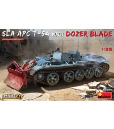 1:35 Ливански бронетранспортьор Т-54 с гребло - пълен интериор (SLA APC T-54 w/Dozer Blade. Interior Kit)