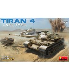 1:35 Танк Тиран 4, късна версия, модел с интериор (Tiran 4 Late Type. Interior Kit)