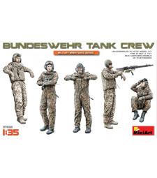 1:35 Бундесвер екипаж на танк (Bundeswehr Tank Crew) - 5 фигури