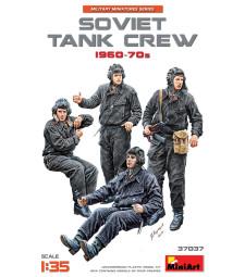 1:35 Съветски танков екипаж 1960-70 - 5 фигури