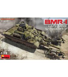 1:35 Съветски бронетранспонтьор БМР-1, късен модел с противоминна система КМТ-7 (BMR-1 Late Mod. with KMT-7)