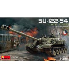 1:35 Съветски танк СУ-122-54, късен вариант (SU-122-54 Late Type)