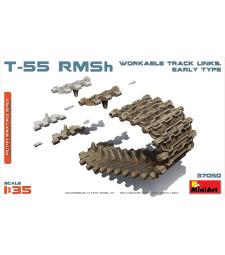 1:35 Подвижни вериги за танк Т-55 RMSh, ранна версия (T-55 RMSh Workable Track Links. Early Type)