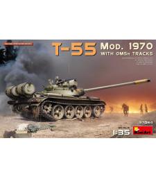 1:35 Руски среден танк Т-55 модел от 1970 година (T-55 Mod. 1970 w/OMSh Tracks)