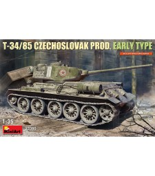 1:35 Чехословашки танк T-34-85, ранна версия