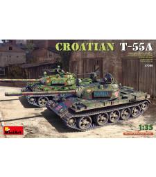 1:35 Среден танк Т-55А - Хърватска армия (Croatian T-55A)